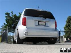 SCION ENGINE PERFORMANCE - Scion Exhaust System - HKS - HKS ES Wagon Exhaust System: Scion xB 2008 - 2015 (xB2)