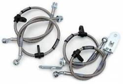 Scion tC Brake Parts - Scion tC Brake Lines - Russell - Russell Stainless Brake Lines (Front & Rear): Scion tC 2005 - 2010