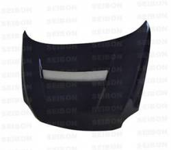 Scion tC Carbon Fiber Parts - Scion tC Carbon Fiber Hood - Seibon - Seibon VSII Carbon Fiber Hood: Scion tC 2005 - 2010