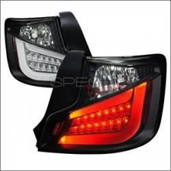 Spec D Black LED Tail Lights: Scion tC 2011 - 2013 (tC2)