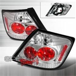 SCION LIGHTING PARTS - Scion Tail Lights - Spec D - Spec D Chrome JDM Tail Lights: Scion tC 2005 - 2010