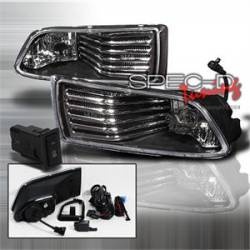 SCION LIGHTING PARTS - Scion Fog Lights - Spec D - Spec D JDM Black Fog Lights: Scion tC 2005 - 2010