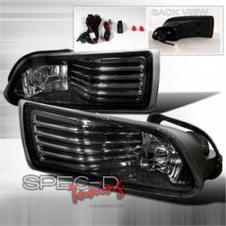 SCION LIGHTING PARTS - Scion Fog Lights - Spec D - Spec D Smoke Fog Lights: Scion tC 2005 - 2010