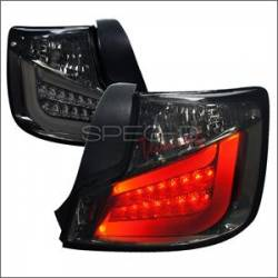Scion tC2 Lighting Upgrades - Scion tC2 LED Tail Lights - Spec D - Spec D Smoke LED Tail Lights: Scion tC 2011 - 2013 (tC2)