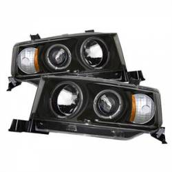 Spyder - Spyder Dual Halo Projector Headlights (Black): Scion xB 2004 - 2006