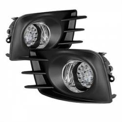 Spyder - Spyder LED Fog Lights (Clear): Scion tC 2011 - 2013 (tC2)