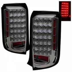 Scion xB2 Lighting Parts - Scion xB2 LED Tail Lights - Spyder - Spyder Smoke LED Tail Lights: Scion xB 2008 - 2010 (xB2)
