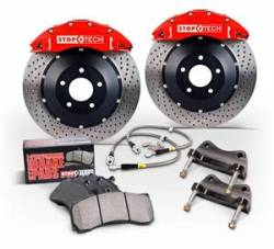 Scion FRS Brake Parts - Scion FRS Brake Kits - Stoptech - Stoptech 4-Piston Front Big Brake Kit (328 X 28mm): Scion FR-S 2013 - 2016; Subaru BRZ 2013-2015