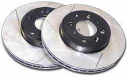 Scion tC Brake Parts - Scion tC Brake Rotors - Stoptech - Stoptech Slotted Front Brake Rotors: Scion tC 2005 - 2010