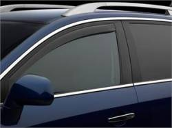 Scion iQ Exterior Parts - Scion iQ Window Visors - Weathertech - Weathertech Side Window Deflectors: Scion iQ 2012 - 2016