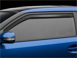 Scion tC2 Exterior Parts - Scion tC2 Window Visors - Weathertech - Weathertech Side Window Deflectors: Scion tC 2011 - 2016 (tC2)