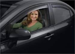 Scion xA Exterior Parts - Scion xA Window Visors - Weathertech - Weathertech Side Window Deflectors: Scion xA 2004 - 2006