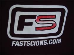 FastScions - FastScions T-Shirt (Black - Short Sleeve) - Image 4