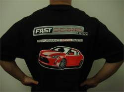 FastScions - FastScions Scion tC2 T-Shirt (Black - Short Sleeve) - Image 2
