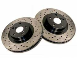 Stoptech - Stoptech Drilled Rear Brake Rotors: Scion FR-S 2013-2016; Subaru BRZ 2013-2018 - Image 2