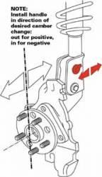 SPC - SPC Performance Front Camber Kit: Scion xA / xB 2004 - 2006 - Image 2