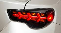Buddy Club - Buddy Club LED Tail Lights w/ Amber Turn Signal: Scion FR-S 2013 - 2016; Toyota 86 2017-2018; Subaru BRZ 2013-2018 - Image 3