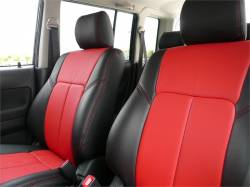 Scion xA Interior Parts - Scion xA Seat Covers - Clazzio - Clazzio Leather Seat Covers: Scion xA / xB 2006 - 2007