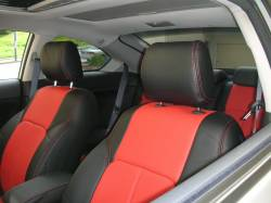 SCION INTERIOR PARTS - Scion Seat Covers - Clazzio - Clazzio Leather Seat Covers: Scion tC 2005 - 2010