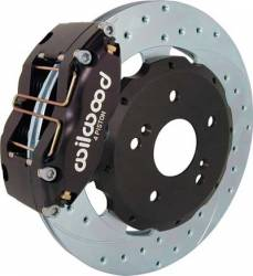 Scion xB Brake Parts - Scion xB Brake Rotors - Wilwood - Wilwood 4-Piston Front Brake Kit: Scion xA / xB 2004 - 2006