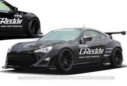 GReddy - Greddy X Rocket Bunny 86 Widebody Kit: Scion FR-S 2013-2016; Toyota 86 2017-2018; Subaru BRZ 2013-2018 - Image 2