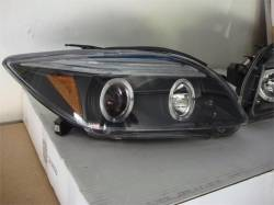 Spec D - Spec D Dual Halo Projector Headlights w/ Eyebrow BLACK: Scion tC 2005 - 2010 - Image 2