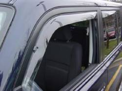 Scion xB Exterior Parts - Scion xB Window Visors - Weathertech - Weathertech Side Window Deflectors: Scion xB 2004 - 2006