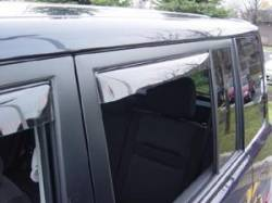 Weathertech - Weathertech Side Window Deflectors: Scion xB 2004 - 2006 - Image 2