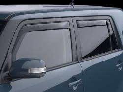 Scion xB2 Exterior Parts - Scion xB2 Window Visors - Weathertech - Weathertech Side Window Deflectors: Scion xB 2008 - 2015 (xB2)