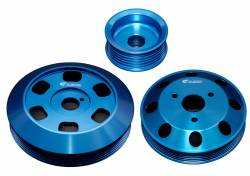 SCION ENGINE PERFORMANCE - Scion Crank Pulley - Cusco - Cusco Light Weight Aluminum Pulley Set: Scion FR-S 2013-2016; Toyota 86 2017-2018; Subaru BRZ 2013-2018