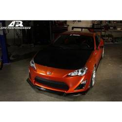 Scion FRS Carbon Fiber Parts - Scion FRS Carbon Fiber Lip - APR Performance - APR Carbon Fiber Aero Kit: Scion FRS 2013 - 2016