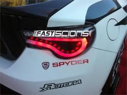 Spyder - Spyder Black LED Tail Lights: Scion FR-S 2013 - 2016 - Image 2