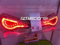Spyder - Spyder Smoke LED Tail Lights (w/ Light Bar): Scion FR-S 2013 - 2016; Subaru BRZ 2013-2016 - Image 3