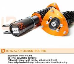 KSport - K Sport Kontrol Pro Damper Coilovers: Scion xB 2004 - 2006 - Image 2