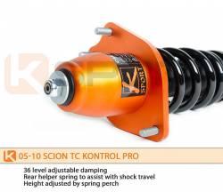 KSport - K Sport Kontrol Pro Damper Coilovers: Scion tC 2005 - 2010 - Image 4