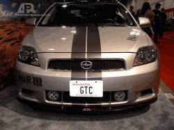 Scion tC Exterior Parts - Scion tC Lip - APR Performance - APR Carbon Fiber Front Wind Splitter: Scion tC 2005 - 2010
