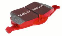 Scion iQ Brake Parts - Scion iQ Brake Pads - EBC - EBC Redstuff Front Brake Pads: Scion iQ 2012 - 2016
