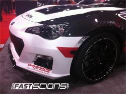 SCION CARBON FIBER PARTS - Scion Carbon Fiber Lip - Seibon - Seibon TA Carbon Fiber Front Lip: Scion FR-S 2013 - 2016
