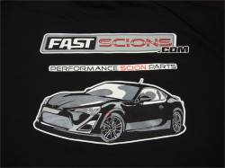 Shop by Part - SCION SWAG - FastScions - FastScions Scion FR-S Hoodie Sweatshirt (Black)