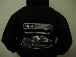 FastScions - FastScions Scion FR-S Hoodie Sweatshirt (Black) - Image 2