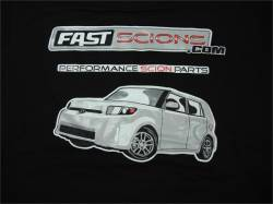 Shop by Part - SCION SWAG - FastScions - FastScions Scion xB Hoodie Sweatshirt (Black)