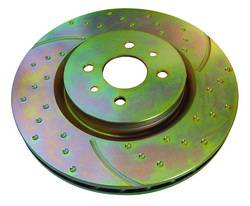 EBC - EBC 3GD Drilled & Slotted Front Brake Rotors: Scion tC 2005 - 2010 - Image 2