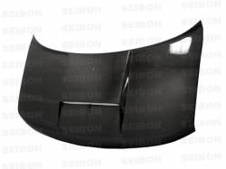Scion xB Carbon Fiber Parts - Scion xB Carbon Fiber Hood - Seibon - Seibon SC Carbon Fiber Hood: Scion xB 2004 - 2006