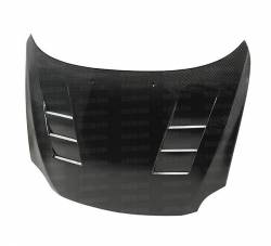 SCION CARBON FIBER PARTS - Scion Carbon Fiber Hood - Seibon - Seibon TS Carbon Fiber Hood: Scion tC 2005 - 2010