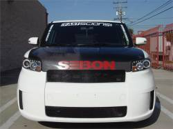 Seibon - Seibon DV Carbon Fiber Hood: Scion xB 2008 - 2015 (xB2) - Image 2