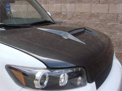 SCION CARBON FIBER PARTS - Scion Carbon Fiber Hood - Seibon - Seibon SC Carbon Fiber Hood: Scion xB 2008 - 2015 (xB2)