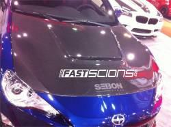Seibon - Seibon VS Carbon Fiber Hood: Scion FR-S 2013-2016; Toyota 86 2017-2018; Subaru BRZ 2013-2018 - Image 5