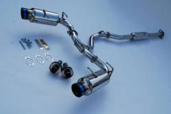 SCION ENGINE PERFORMANCE - Scion Exhaust System - Invidia - Invidia N1 Exhaust System (Titanium Tips): Scion FR-S 2013-2016; Toyota 86 2017-2018; Subaru BRZ 2013-2018