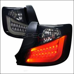 Spec D - Spec D Black / Smoke LED Tail Lights: Scion tC 2011 - 2013 (tC2) - Image 1