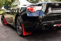 SCION EXTERIOR PARTS - Scion Miscellaneous Exterior - Rally Armor - Rally Armor Mud Flaps: Scion FR-S 2013 - 2016; Subaru BRZ 2013-2018